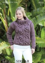 Sirdar Big Softie - 9832 Jumper Knitting Pattern
